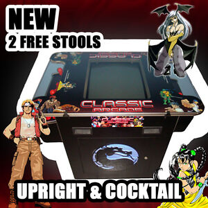 NEW ARCADE MACHINE TABLETOP UPRIGHT & COCKTAIL VIDEO GAME PINBALL POOL
