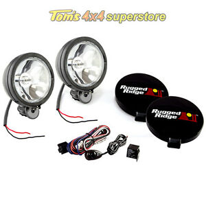 15207.51 Off Road Light Kit PAIR W/ Wiring Harness, 6