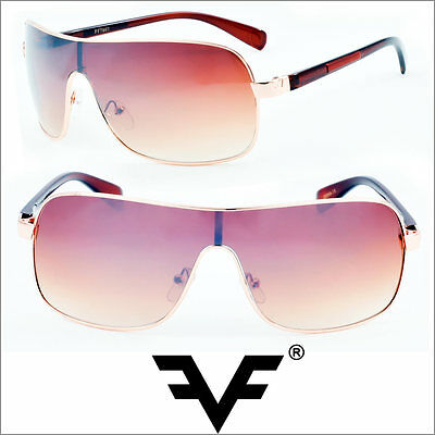 aviator designer sunglasses  designer one-piece lenses