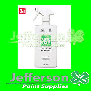 autoglym interior shampoo 500ml cleaner car care detailer ebay. Black Bedroom Furniture Sets. Home Design Ideas