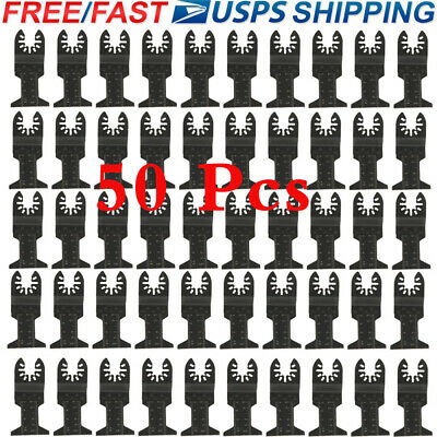 50 Pcs Oscillating Multi Tool Saw Blade For Fein Multimaster Bosch Ridgid Makita
