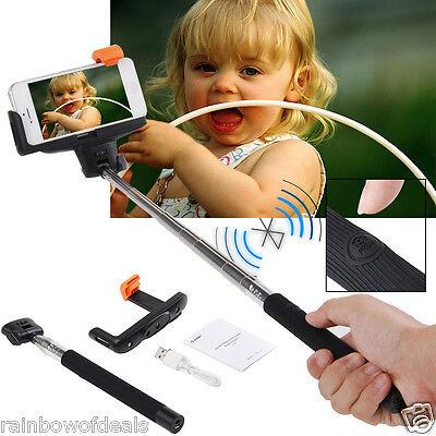 Extendable Handheld Bluetooth Selfie Stick Monopod For iPhone Samsung HTC Phone