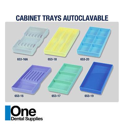 Dental Instrument Cabinet Tray Organizer Autoclavable Plastic 16a