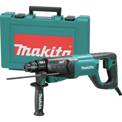 Makita 1 Avt Sds-plus D-handle Rotary Hammer Hr2641-r Certified Refurbished