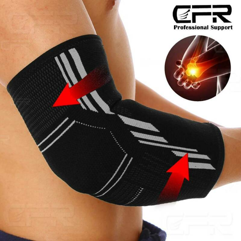 copper elbow brace compression support sleeve arthritis