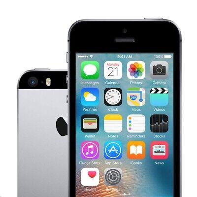 New Apple iPhone SE - 16 GB - Space Grey GSM Unlocked for ATT T-Mobile](iphone se new unlocked)