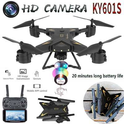 KY601S 20 Min Flight Time WIFI FPV RC Quadcopter Drone with 1080P 5.0MP Camera
