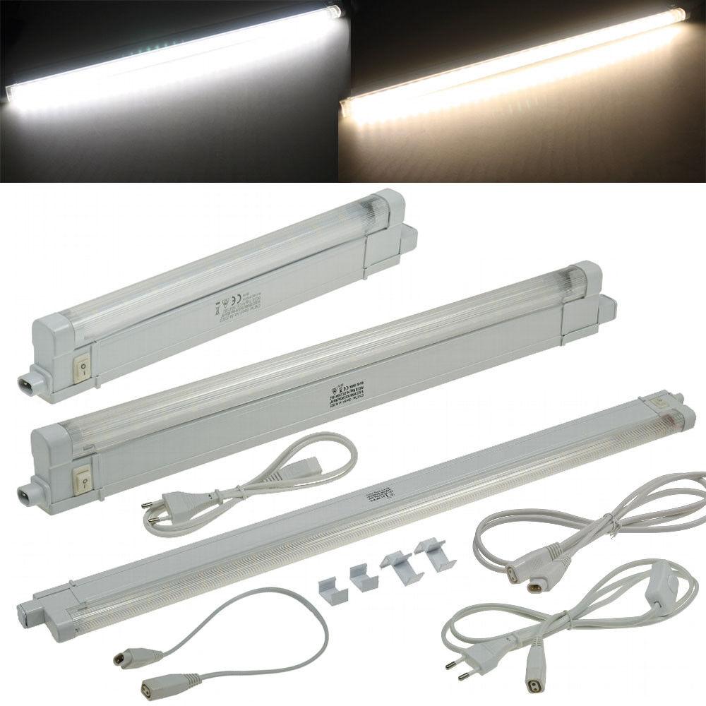 LED Unterbaubauleuchte 230V SMD Pro Küchenlampe Lichtleiste Möbelleuchte