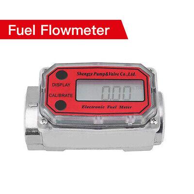 Digital High Accuracy Turbine Flowmeter For Measuring Chemicals Kerosene Water