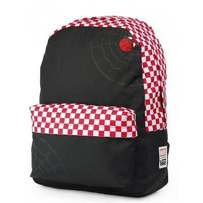 VANS SPIDEY Realm Backpack Black/Rac (MARVEL) Schoolbag Kids - BRAND NEW