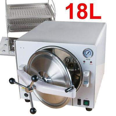 Dental Medical 18l Autoclave Steam Sterilizer Lk-d15 Sterilization Equipment Us