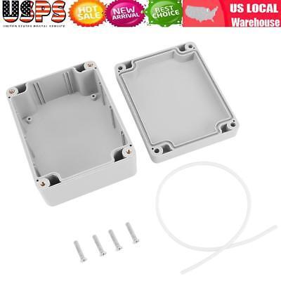 2x Electrical Junction Box Plastic Waterproof Project Enclosure Case Waterproof