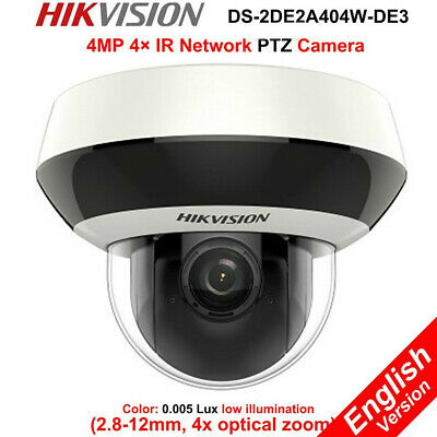 Hikvision IP PTZ 4MP 4XZoom POE DS-2DE2A404IW-DE3 Darkfighter WDR Camera (Poe Ptz Camera)
