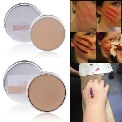 Halloween Party Fancy Dress Fake Scar Wound Skin Wax Body Face Painting Fun Hot