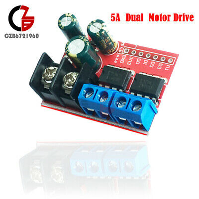 Dc Motor Driver 5a Remote Control Dual H-bridge Pwm Speed Control Module Kit
