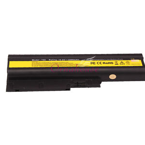 5200mAh Laptop Battery for IBM LENOVO Thinkpad T60 T60P T61 ASM 92P1128 UK