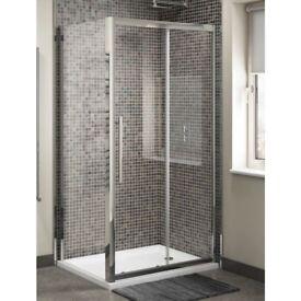 XL 8mm Sliding Shower Door 1200mm Was £474 Now £189