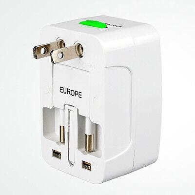 Mini Portable Travel AC Adapter Power Converter for US/EU/AU/UK/FR Worldwide Mini Travel Ac Adapter