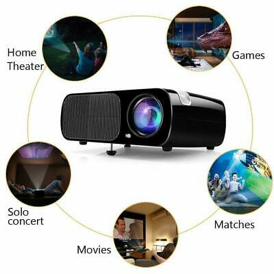 2600Lm 4K WiFi 3D LED Smart Projector FHD 1080P Home Cinema Theater Big Screen