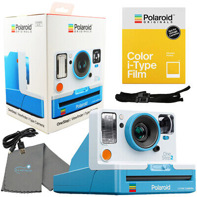 Polaroid OneStep 2 Viewfinder i-Type Camera Summer Blue with