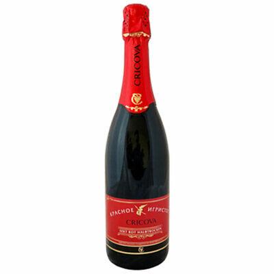 Sekt Cricova rot halbtrocken 0,75L Schaumwein Moldova