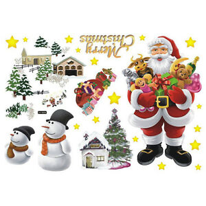 Christmas Wall Decals EBay - Christmas wall decals removable
