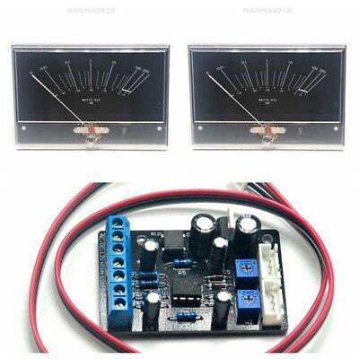 2x Onkyo M-5000r Power Amplifier Vu Panel Meter W 1pc Power Supply Driver Board