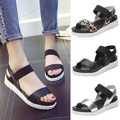 Women Summer Sandals Leather Flat Fashion Flip Flop Comfortable Ladies Shoes
