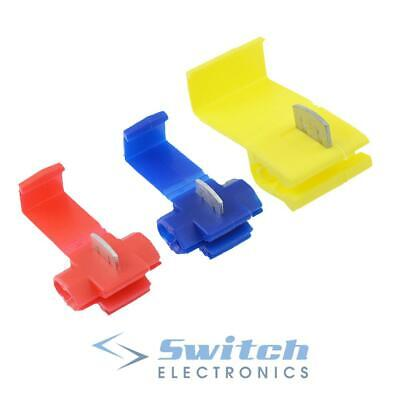 Scotch Lock Quick Splice Wire Connector Electrical Cable Joint Scotchlok