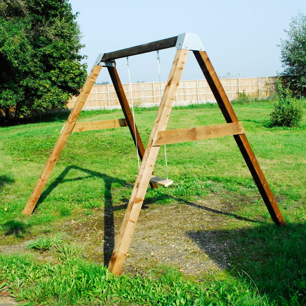 Garden Swings For Adults: DIY Garden Swing BRACKETS SET Wooden Frame Outdoor