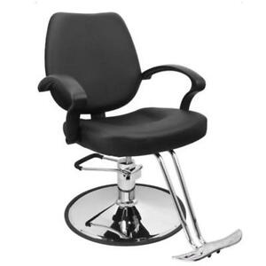 Classic Hydraulic Barber Chair Salon Beauty Spa Styling Equipment Black - BRAND NEW - FREE SHIPPING
