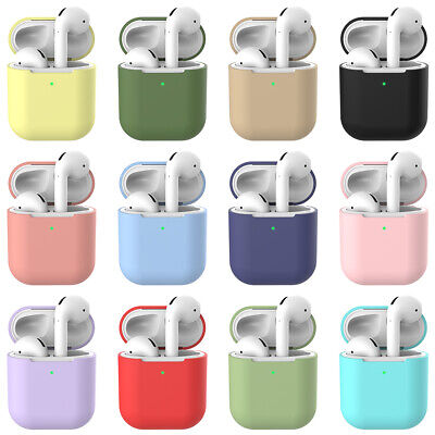 Silicone Case For Apple Airpods 2nd Cover  Protective Earphone Charger Cases Box