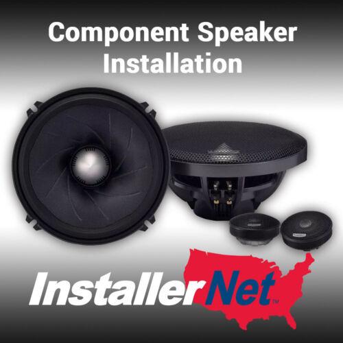 Car Component Speaker Installation from InstallerNet - Lifetime Warranty