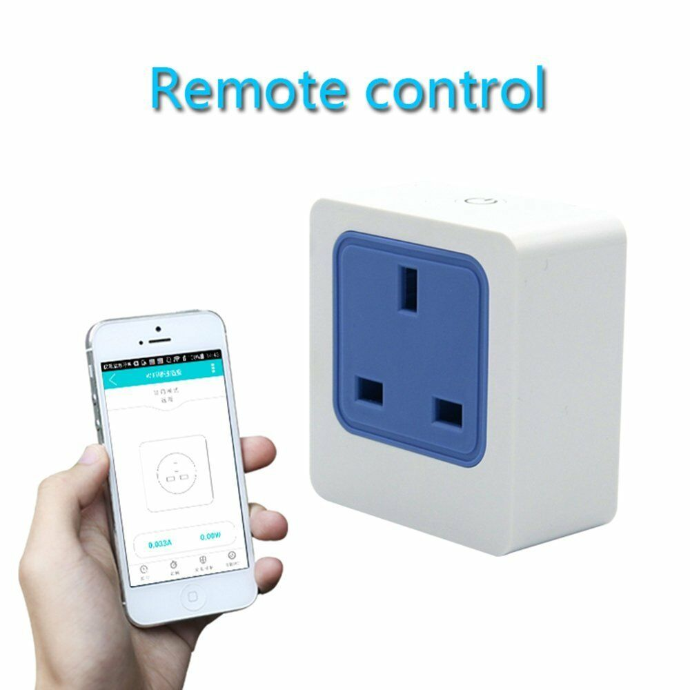 WiFi Smart Plug Home Intelligent Outlet Switch Wireless Timer Power Socket Remot