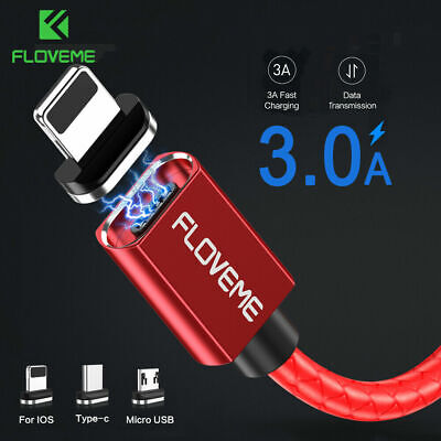 floveme magnetic charger lighting micro usb type