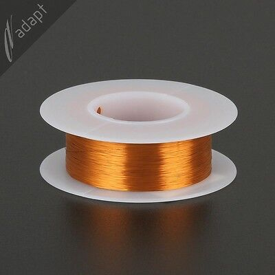 Magnet Wire Enameled Copper Natural 36 Awg Non-solder 200c 18lb. 1550