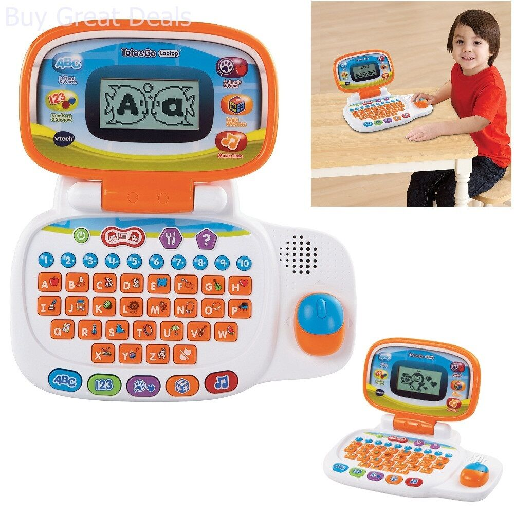 Babys Toddlers Learning Laptop Developmental Interactive Musical Fun Toy New