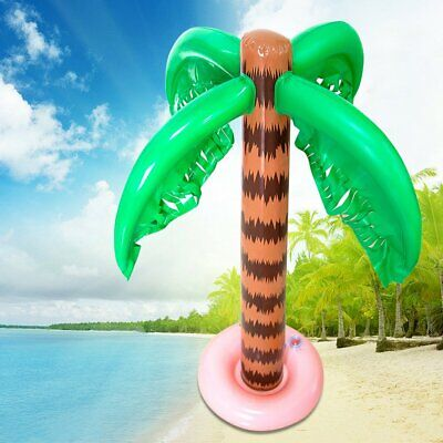 Inflatable Blow Up Palm Tree Hawaiian Tropical Pool Beach Party Decor - Blow Up Palm Trees
