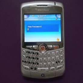 Silver Blackberry Curve 8310 Smart Phone on o2 - Excellent Condition £15 (Post for £18)