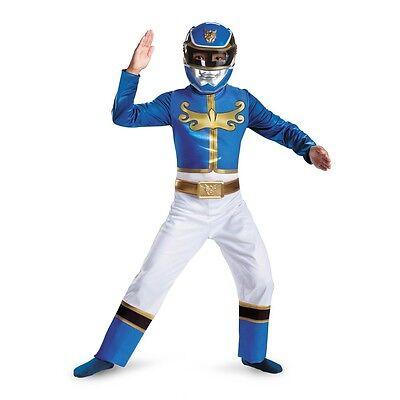 Blue Ranger Mega Force Boys Halloween Costume-Medium ( Size 7-8 )