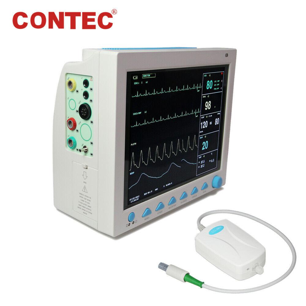 Details about US Portable Vital Signs Patient Monitor Multiparameter ICU  CCU +Capnograph ETCO2