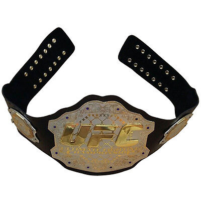 UFC Championship Belt Ultimate Fighting Belts Adult Size Real Leather for sale  Shipping to United States