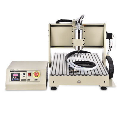 Router Engraver Milling Machine Engraving Drilling Water-cooling 1.5kw Cnc 6040