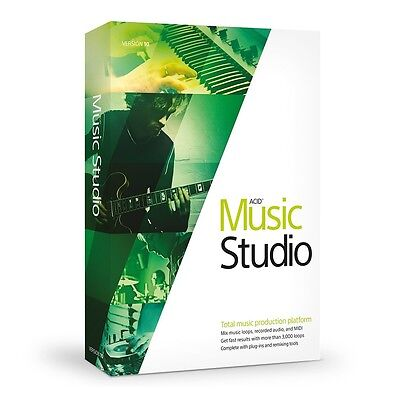 MAGIX ACID Music Studio 10 PC Software (Download)