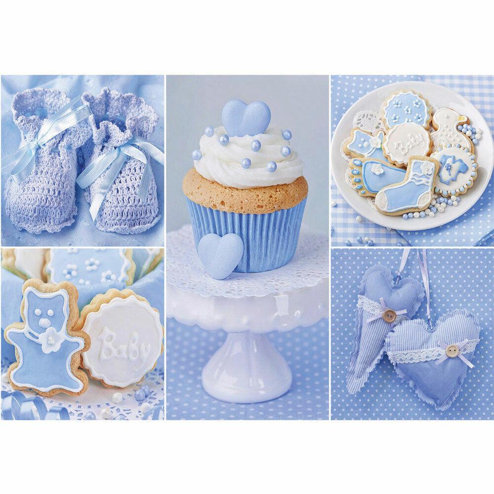 Fototapete Cupcake Baby Babyschue Kekse liwwing no. 3337
