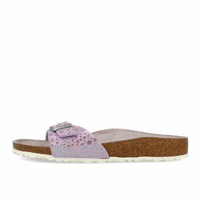 Birkenstock Madrid BF Metallic Stones Lilac Schuhe Sandalen Pantoletten Lila