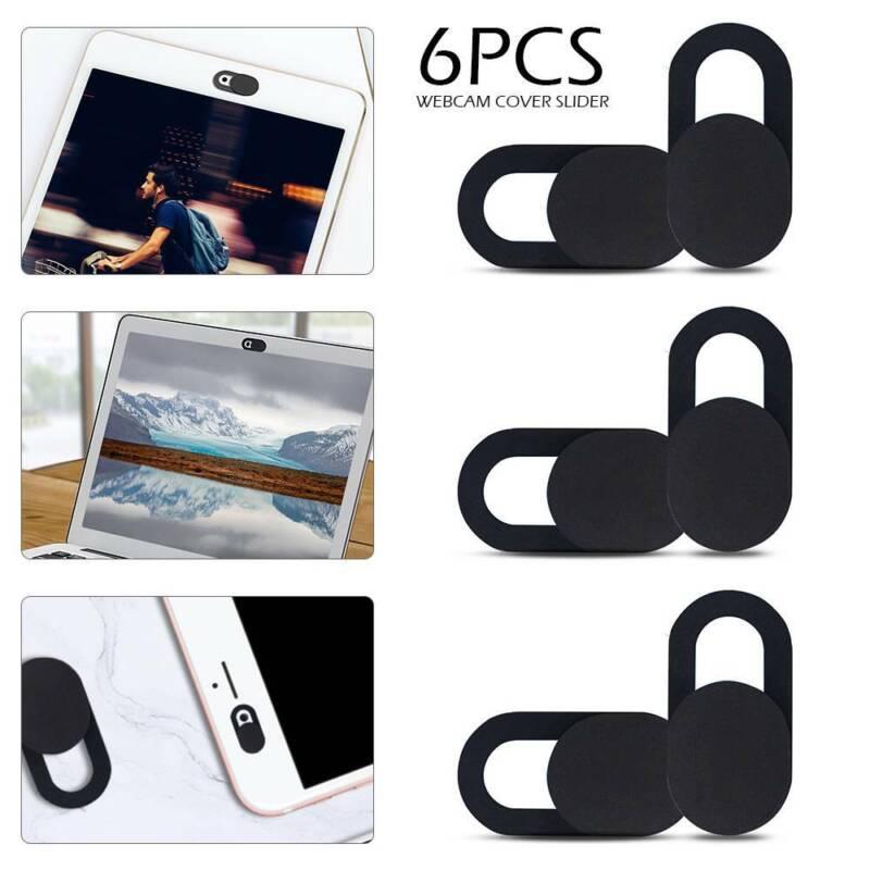 6x Slider Abdeckung Webcam Cover Kamera Schutz für Tablet Laptop Smartphone Neu
