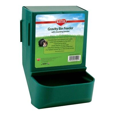 Gravity Bin Feeder (Kaytee Gravity Bin Feeder | Clean and Constant Food Supply For Small)