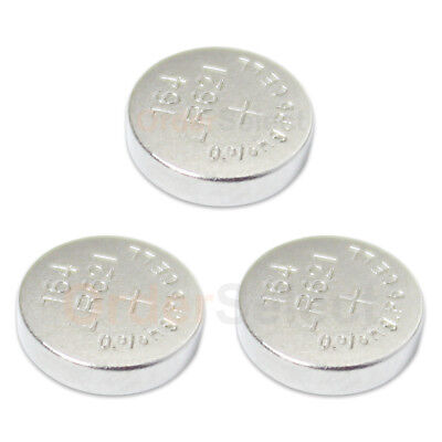 3 PACK NEW Battery Coin Button Watch 1.5V 363 364 SR621W LR621 Authorized Seller