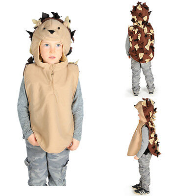 Woodland Animal Costumes (KIDS CHILDRENS HEDGEHOG WOODLAND ANIMAL COSTUME OUTFIT GIRLS BOYS AGE)